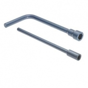 WHEEL WRENCH 24MM C/W EXT BAR