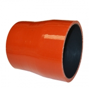 SILICONE HOSE REPL MERCEDES D1:100XD2:115XL140MM RED