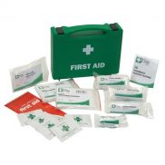 FIRST AID KIT 1-5 PERSONS PLASTIC BOX